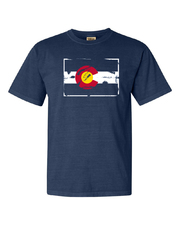 Navy Colorado NOCO T-Shirt